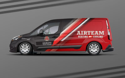 HVAC Fleet Wraps